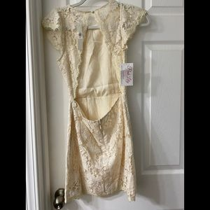 NWT Pink lily boutique lace dress